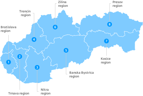 Regional overview   SARIO, Slovak Investment and Trade